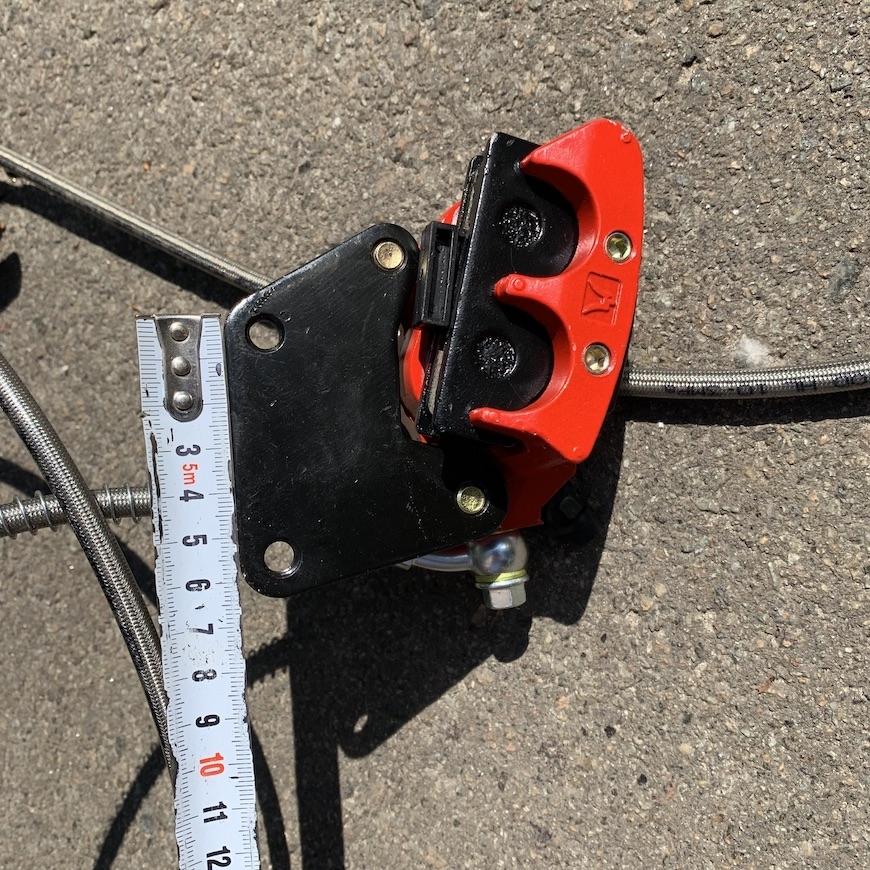 """Гальмівна система для 12"""" коліс CityCoco"""