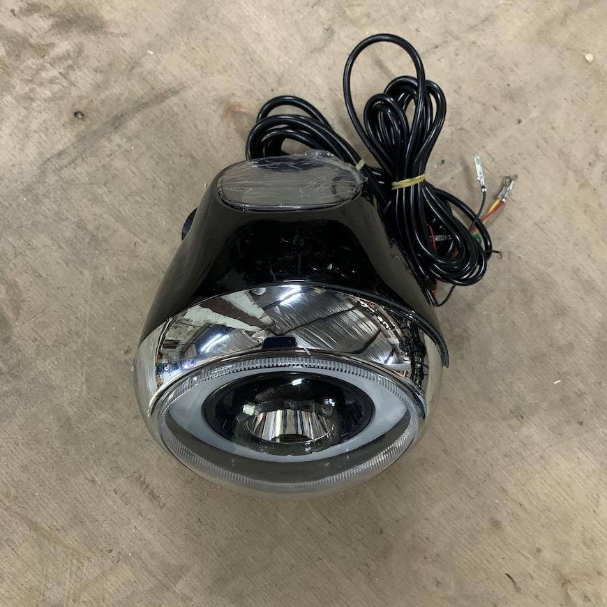 Фара со спидометром Connect