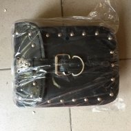Front leather bag
