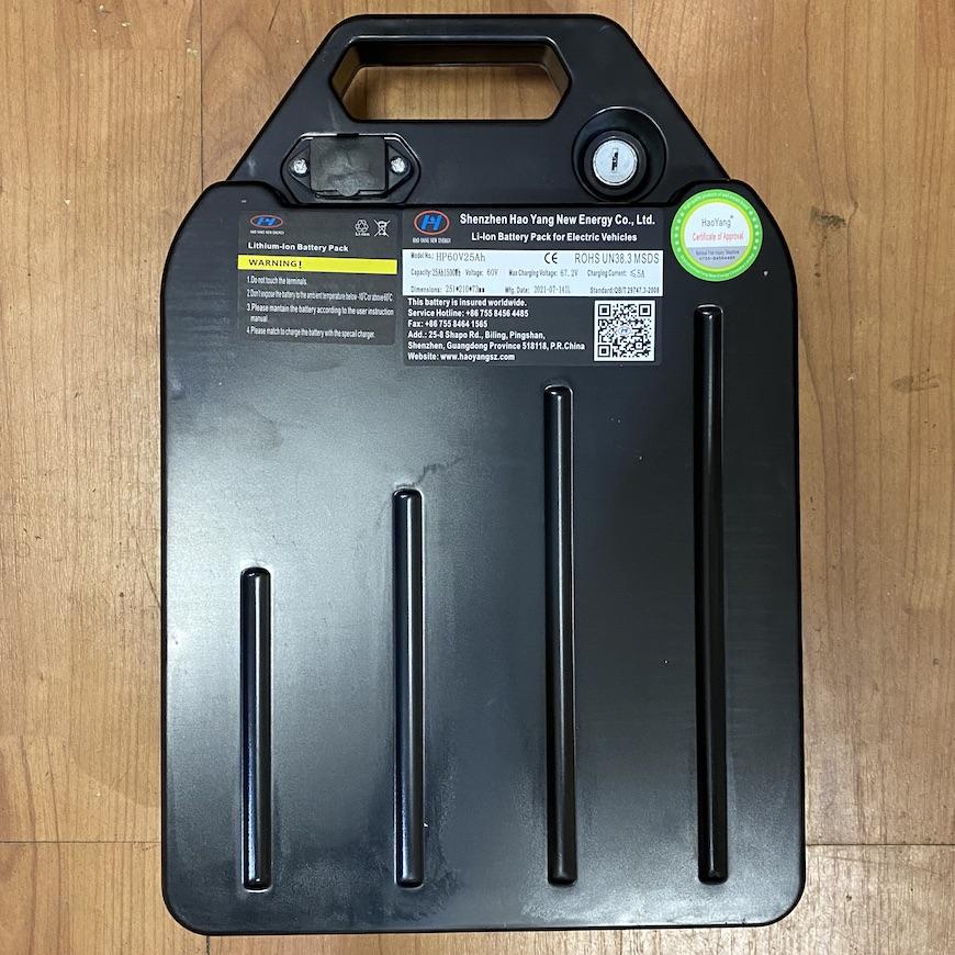 Знімний акумулятор для Citycoco 60V 25Ah
